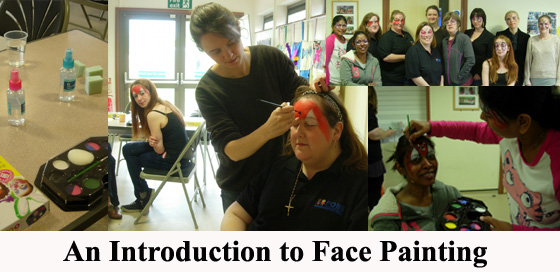 Face painting intro workshop