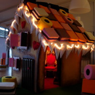 Santa's Gingerbread House Grotto 2010